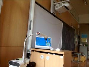 教室インフラ整備(電子黒板・書画カメラ・パソコン)