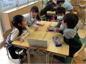 コンパーチブルタブレットによる協働学習