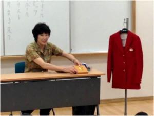 オリンピア金メダリスト・白井貴子選手による講演会
