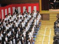 中学部合唱