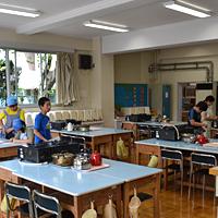 和田小家庭科室